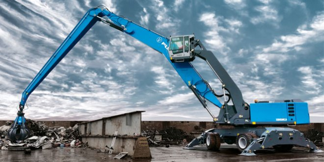Strategic move aligns Fuchs material handlers with Terex Materials Processing segment