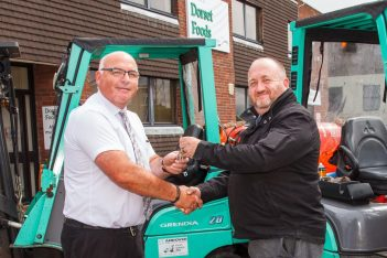 addo food group chooses Mitsubishi forklifts