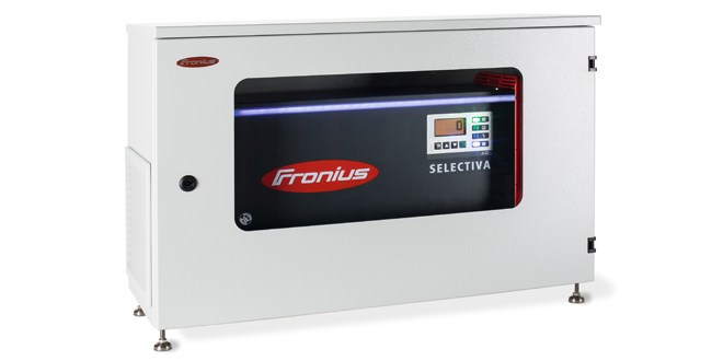 IP54 charger housing from Fronius protects outdoor battery charging systems from moisture and dust