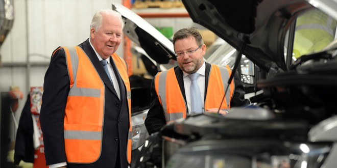 Lord Shuttleworth Visits CoolKit