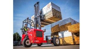 Hiab presents MOFFETT M4NX truck mounted forklift