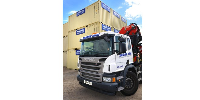 Mobile Mini HGV driver training