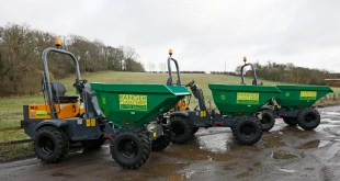 Ranger Plant adds five new Terex Construction site dumpers to equipment portfolio