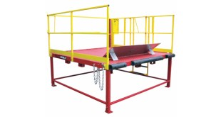 Thorworld Loading Platform improves Loading bay safety & efficiency for Gillards