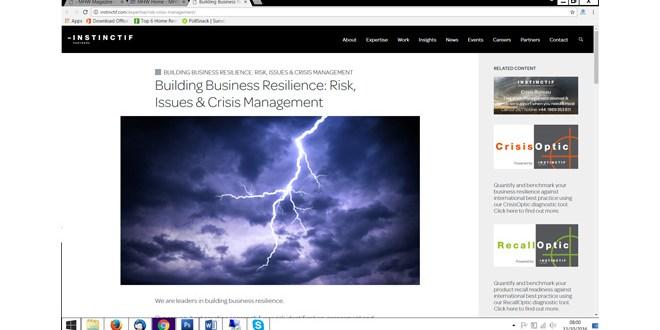 CrisisOptic new tool to help measure logistics business resilience