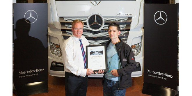 Intercountys Carl crowned top Mercedes-Benz truck technician