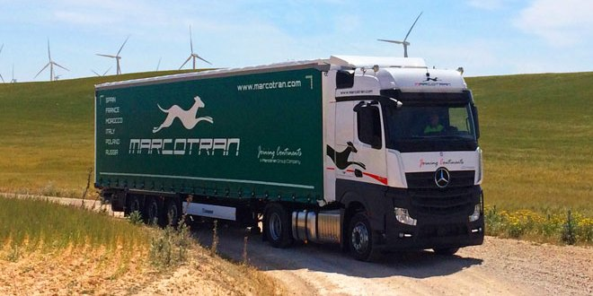 Marcotran tests prove Goodyear best tyre choice tests show FUELMAX and KMAX reduce Total Cost of Ownership