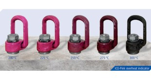RUD ICE Chain Pink Powder Coating Acts as Overheating Indicator