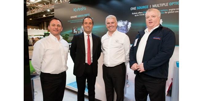Kubota Engines announce major new partnership with Mitchell Powersystems