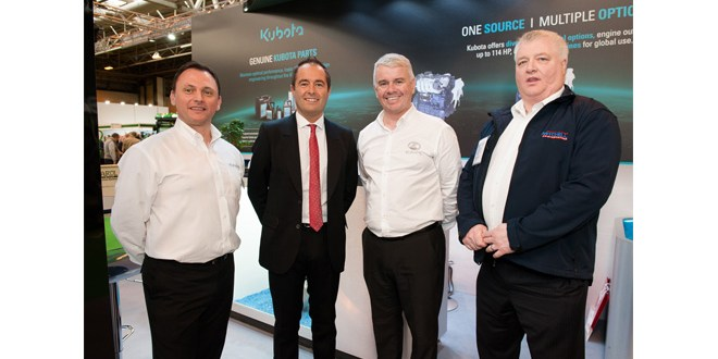 Kubota Engines announce major new partnership with Mitchell Powersystems