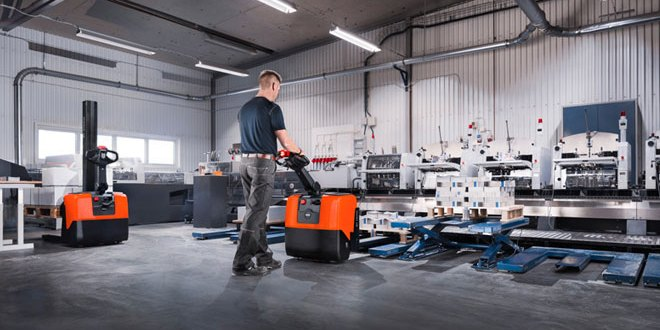 the new powered pallet and stacker trucks from Toyota Material Handling