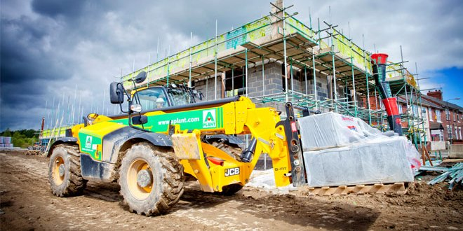 A-Plant supporting new builds with Telehandler trial