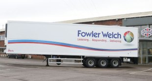 Cartwright Trailers and Fowler Welch collaborate on innovation that reduces carbon footprint