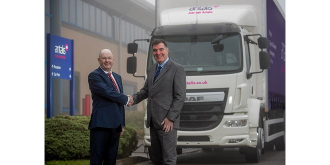 Antalis invests £5m in new Fraikin fleet