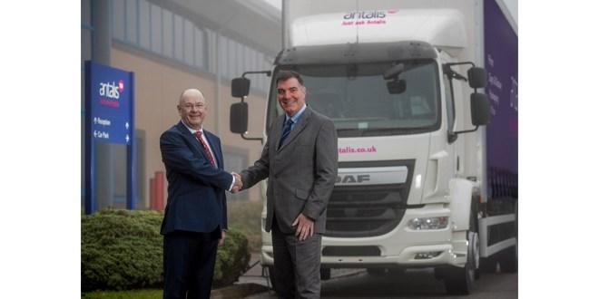 Antalis invests 5m GBP in new Fraikin fleet