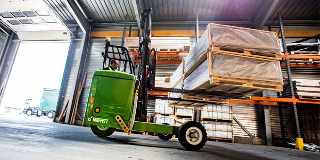 Hiab to supply 15 electric MOFFETT truck mounted forklifts to Behrens Wohlk Gruppe in Germany