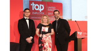 CHEP UK certified by the Top Employers Institute