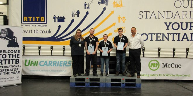 Grand finalists for RTITB International Forklift Operator of the Year announced