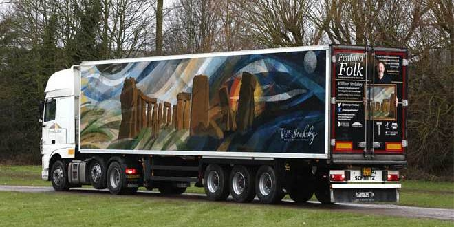 RGVA drives creative truck-side art campaign for Freshlinc