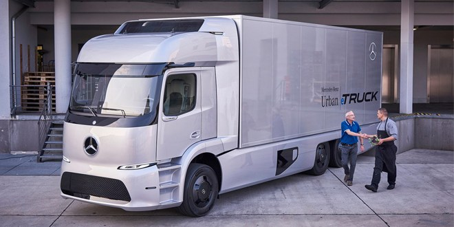 Small series Mercedes-Benz Urban eTruck with electric drive starts in 2017