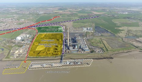 new port of london terminal, known as Tilbury2