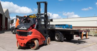 New fleet of alternative fuel Linde trucks result in 30% saving