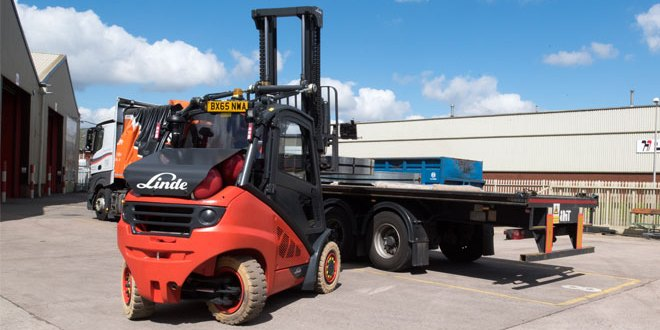 New fleet of alternative fuel Linde trucks result in 30% saving