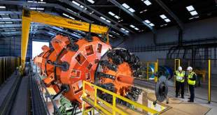 Street Crane bespoke lifting solution for specialist manufacturing process