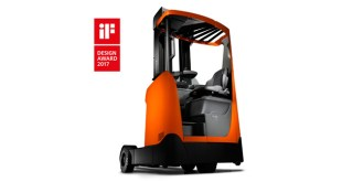 iF Design Award 2017 for redesigned Toyota Material Handling BT Reflex O-series Reach Truck