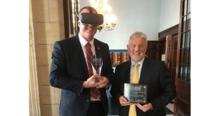HAE virtual reality training programmes wins prestigious innovation award