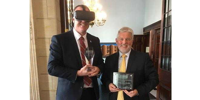 HAE virtual reality training programmes wins prestigious innovation award