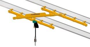J D Neuhaus explosion proof C rails & light crane systems