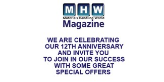 Materials Handling World Magazine celebrates 12th anniversary