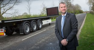New Krone flatbed semi-trailer for UK and Ireland