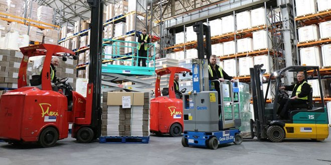 Windsor Materials Handling Helps InBond Make Short Work Of High Racking