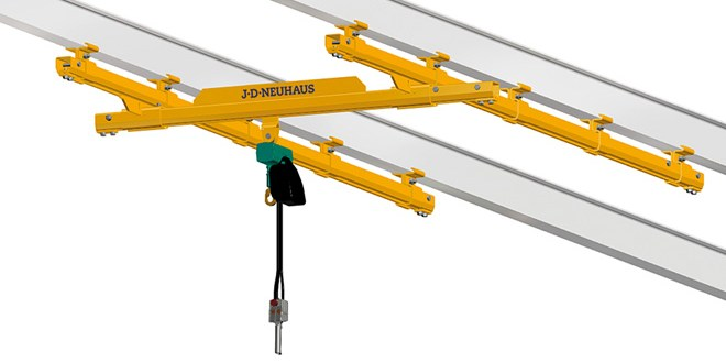 New finish for versatile hoist range is environment optimised