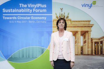VinylPlus General Manager Brigitte Dero