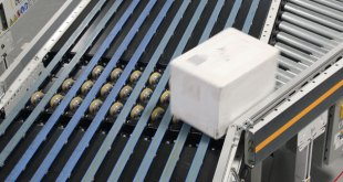 Dematic Narrow Belt Sorter designed for low-mid rate applications