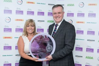 one overall winner was identified as Woman of the Year This went to Julie McCaffery