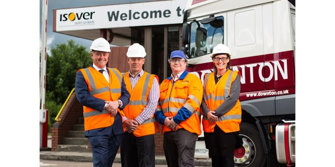 Isover awards 5-year, £15 million contract to Downton