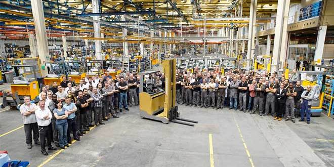 Jungheinrich celebrates fifty years of production in Norderstedt