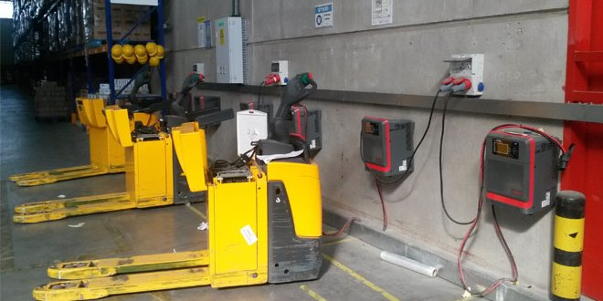 Kuehne and Nagel Turkey improve safety and productivity with NexSys TPPL technology batteries