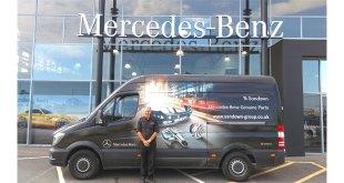 Maxoptra helps Mercedes-Benz dealership make parts deliveries smart