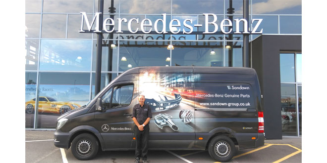 Maxoptra helps Mercedes-Benz dealership make parts deliveries smart