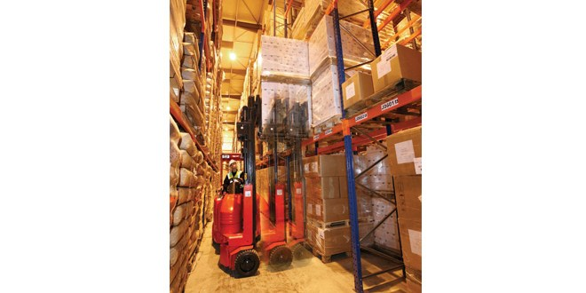 Flexi Warehouse Systems Revamped warehouse process is the right recipe for snack food giant