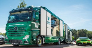 Woodside Motorfreight new Mercedes Benz Actros is the pride of the fleet