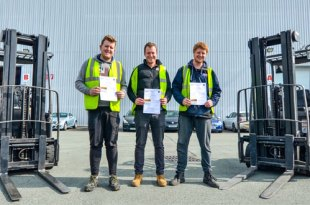Hat Trick Of Qualifications Successes For Warehouse Workers At Leading Sports Firm