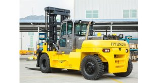 Hyundai expand its forklift range with the new powerful 160D-9L heavy-line forklift