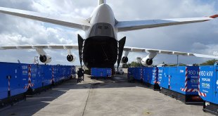 ANTONOV AIRLINES FLIES EMERGENCY RELIEF TO HURRICANE-STRICKEN GUADELOUPE