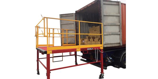 Jones Interiors sets designs on Thorworld for safe efficient loading bay solution